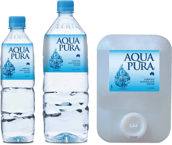 Aqua Pura, purified Australian water